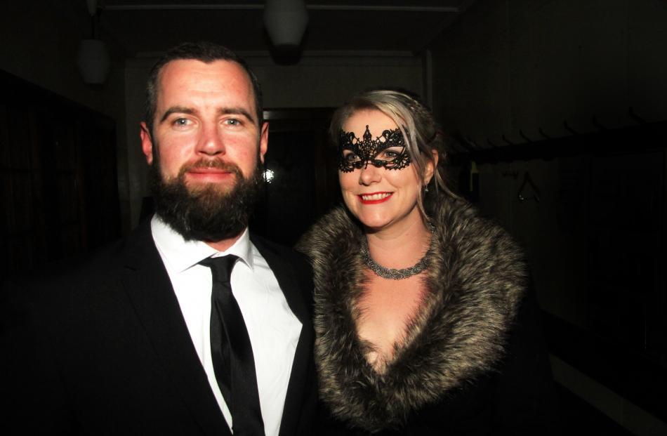 James Southard and Kelly Harvey, of Oamaru.
