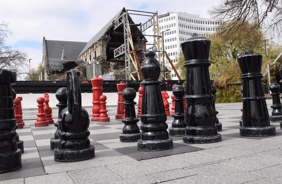 After initially intending to demolish the extensively damaged Christchurch Cathedral, the...