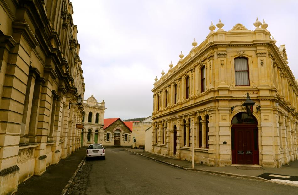 The NZ Whisky Collection bonded warehouse and Cellar Door in Oamaru
