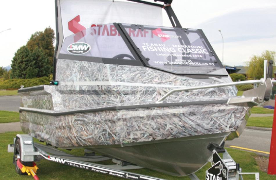 Stabicraft Camo1550 Fisher with Yamaha 50hp 4 stroke and DMW Trailer.  Photo: Julie Walls