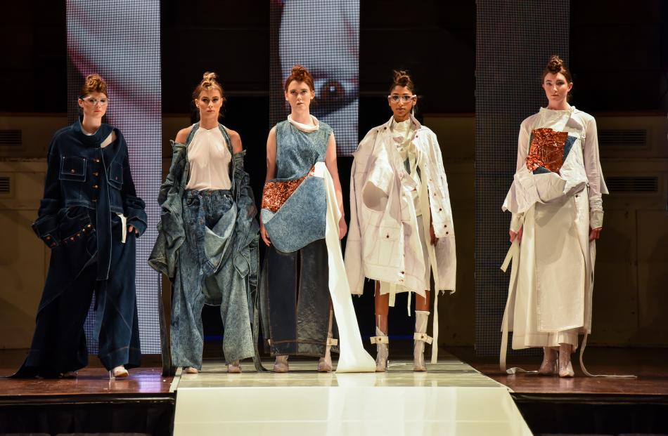 Alissar Hammoud collection at the 2018 iD Dunedin Fashion Show