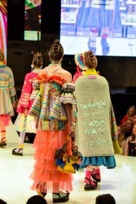 Annaiss Yucra Mancilla collection at the 2018 iD Dunedin Fashion Show