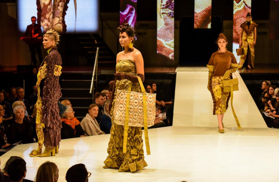 Madeline Jost collection at the 2018 iD Dunedin Fashion Show
