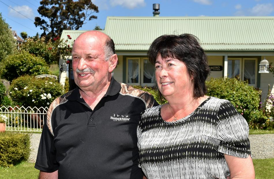 When Rodger and Lyn Herd bought the site of their holiday home in Hampden they had already been spending their summers in the small seaside town for 10 years. Photos: Tim Miller