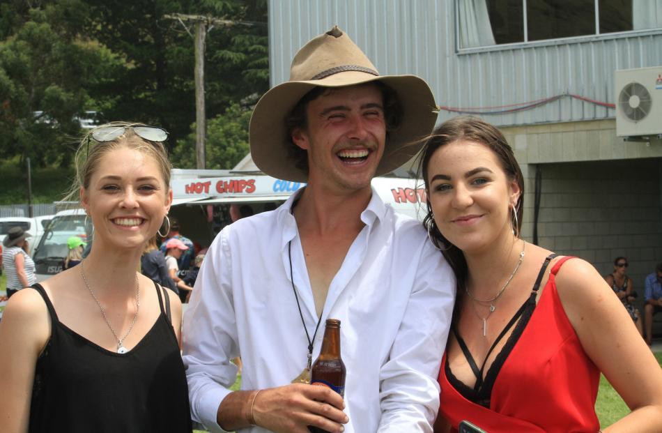 Kate Caldwell (19), of Oamaru, Sam Minett (21), of Haka Valley, and Maddi Templeton (17), of Oamaru.