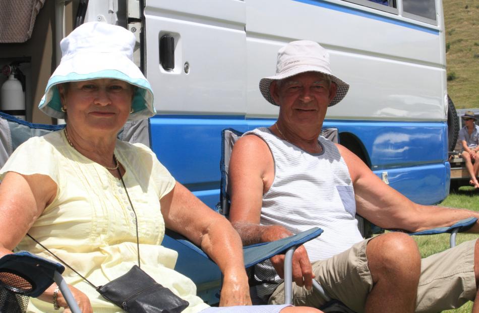 Jill and Ray Greaney, of Hamilton.
