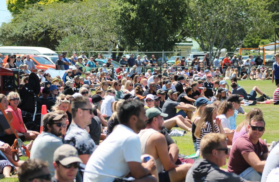 Close to 4000 people attended the Blair Vining Bucket List Rugby Game at Winton on Saturday....