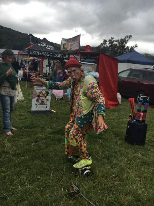 Christchurch entertainer Adam Allsorts was popular with all ages.
