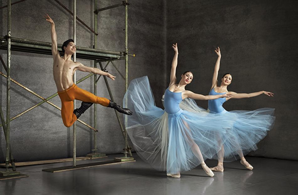 The Royal New Zealand ballet is bringing Bold Moves to Dunedin. Photo: Ross Brown