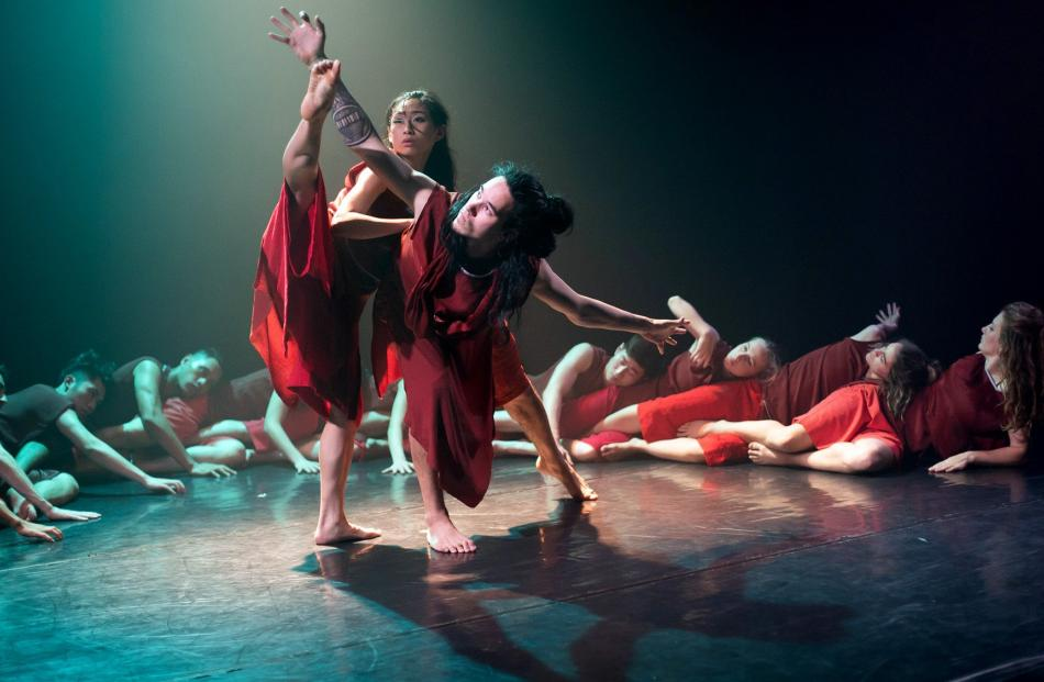 Footnote New Zealand Dance and Guangdong Modern Dance Company will perform their collaborative work Hemispheres in Dunedin. Photo: Supplied