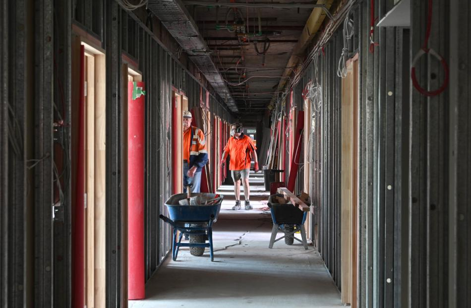 Up to 140 people are working on the refurbishment of Hayward at any one time.