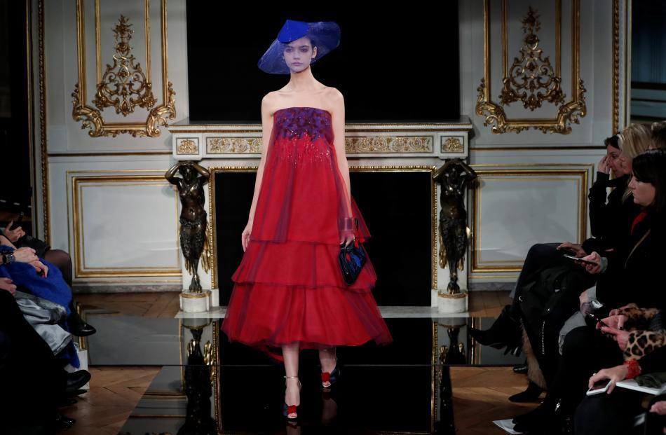 Giorgio Armani Prive Haute Couture Spring-Summer 2019. Photos: Reuters