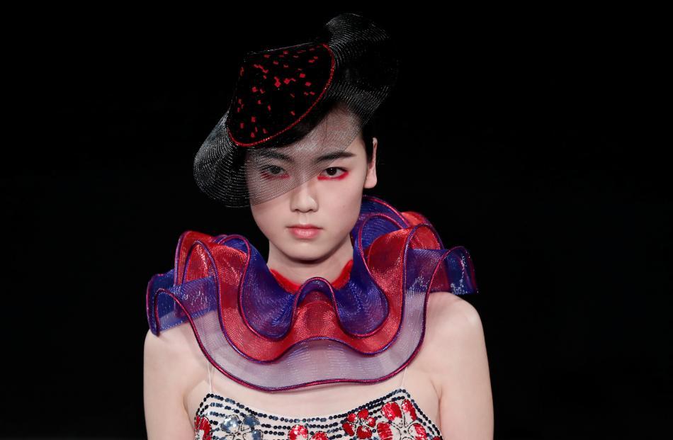 Giorgio Armani Prive Haute Couture Spring-Summer 2019.