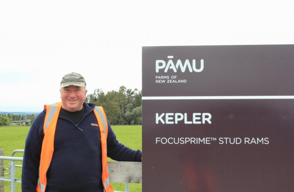 Travis Leslie, of Kepler Farm, Te Anau.