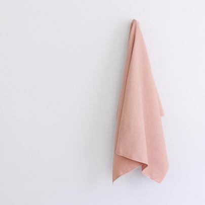 The Fabric Store's vintage blush linen.