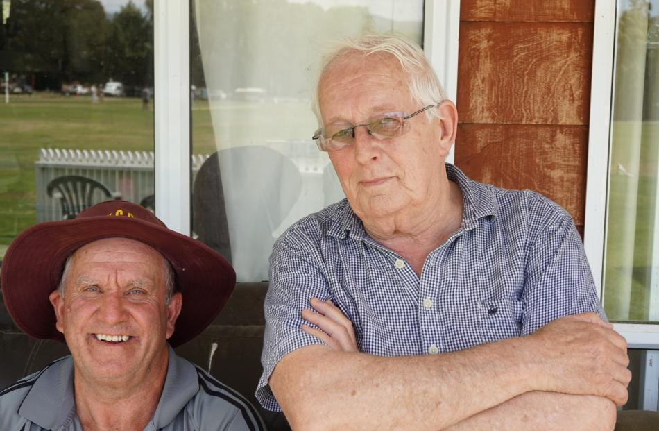 Mike O'Connor, of Albert Town, and Neville Davidson, of Alexandra.