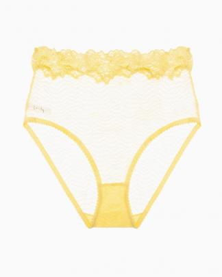 Lonely Lingerie's Bonnie high waist brief (available at Bellebird Boutique)