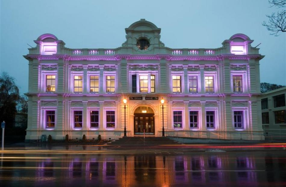 Oamaru Opera House, which was redeveloped by Williams Ross Architects.