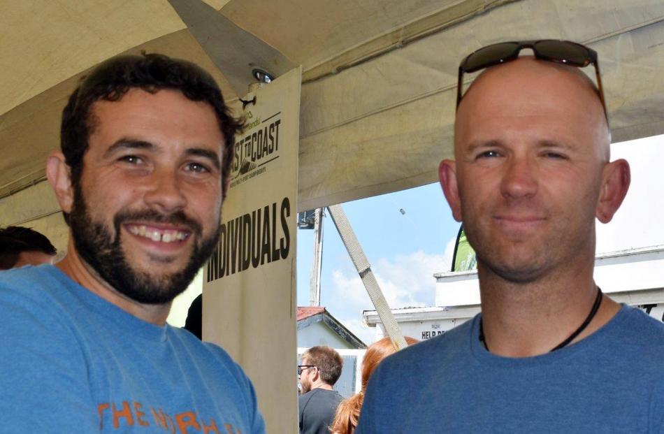 Giulio Chapman and Matt Kunzmann, both of Queenstown.
