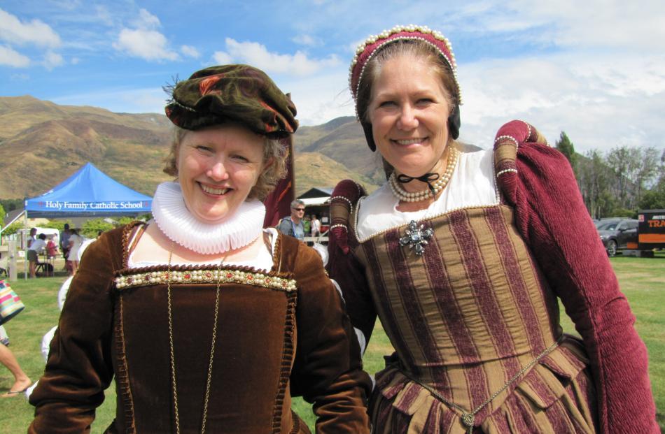 Jo Howard and Cheryl Inwood, of Dunedin.