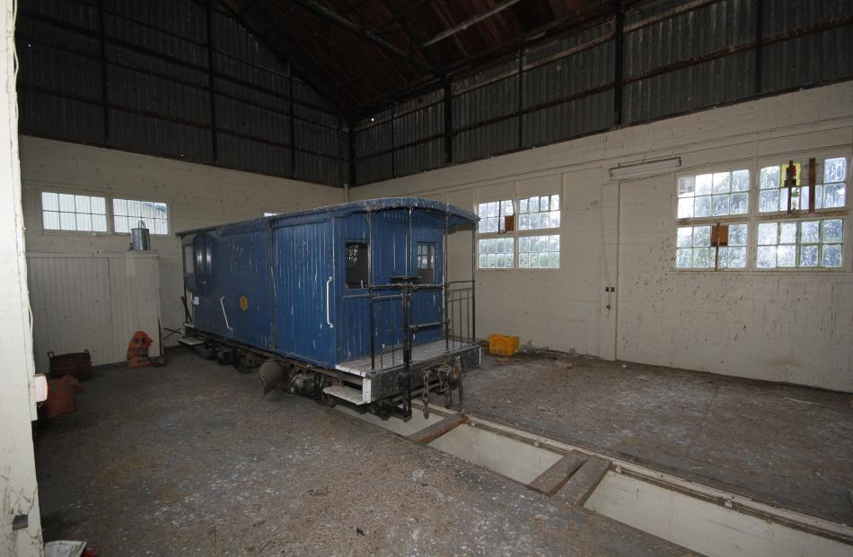 Until last week ago this plough wagon was housed in the Ohai Railway Board premises in Wairio. ...
