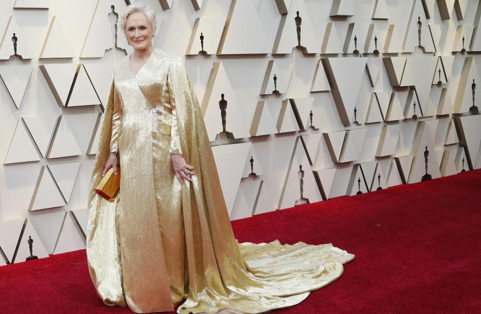 Best actress nominee Glenn Close. Photo: Reuters