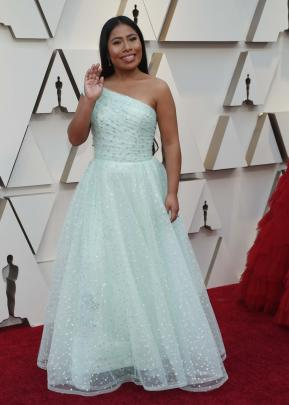 Best Actress nominee Yalitza Aparicio. Photo: Reuters