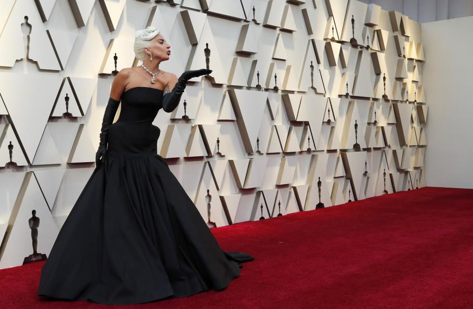 Lady Gaga is nominated for best actress for her role in 'A Star is Born' and for best original song for 'Shallow' from the same movie. Photo: Reuters
