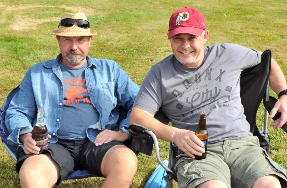 Tony Gyde, of Palmerston, and Alan McNeil, of Dunedin.