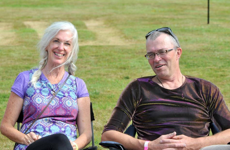 Anita DeSoto, of Waitati, and Hank Haining, of Warrington.