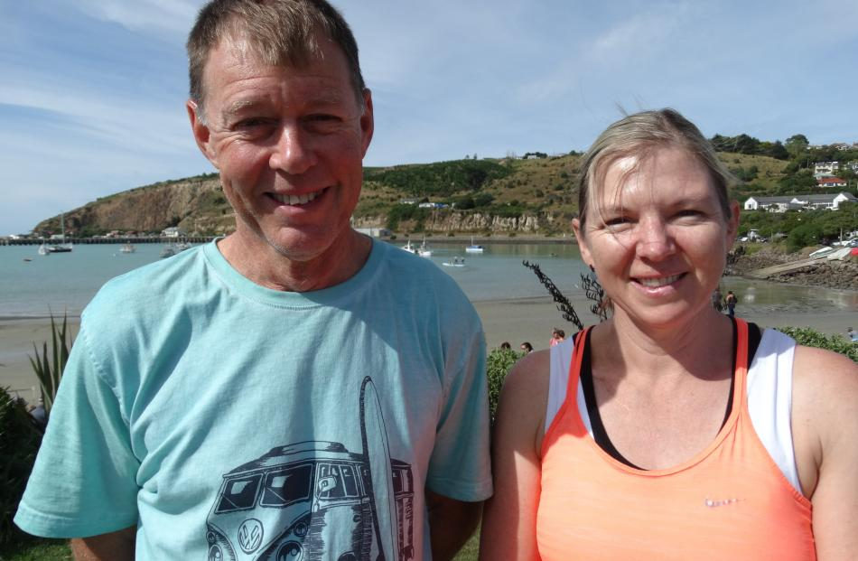 Tim and Kerri Burfoot, of Blenheim.