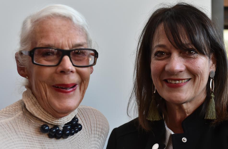 Barbara Brinsley (left) and Cristine Mulligan. Photos: Gregor Richardson