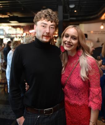 iD intern designer Gauthier Dejace, of Belgium, and Ella Buchanan, of Dunedin.