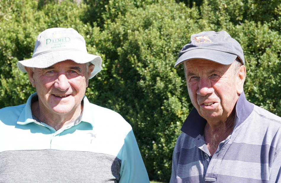 Russell Shaw and Bill Hore, both of Wanaka.