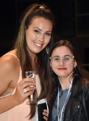 Jennifer Neill and Sophie Mitchell, both of Wellington.
