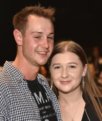 Simon Laing and Marine Brianne, both of Dunedin.