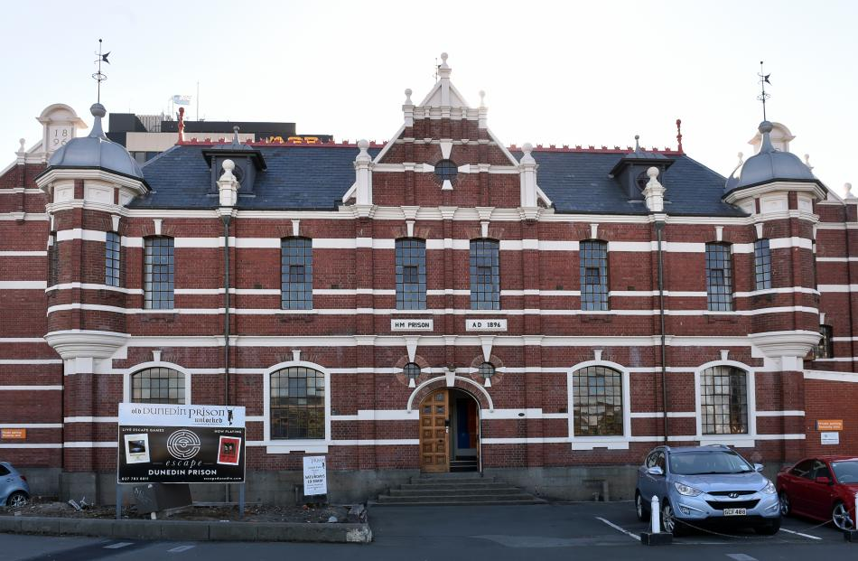 Dunedin Prison, by the Dunedin Prison Charitable Trust, winner of the pouhere taonga conservation...