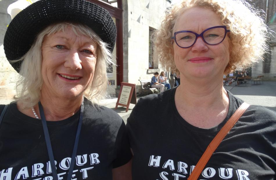 Heather Burgher and Julie Barclay, of Oamaru.