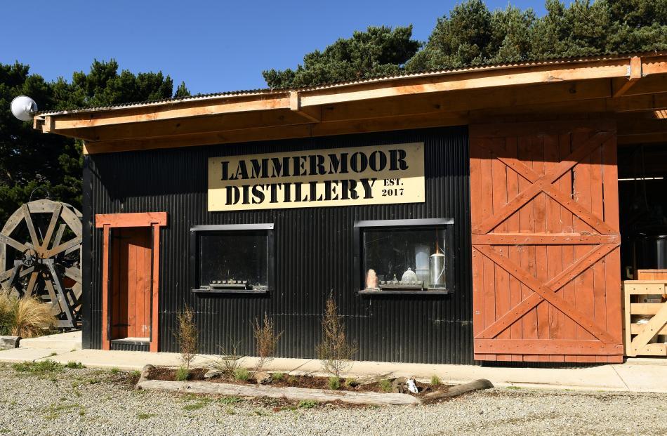 The Lammermoor Distillery in the Maniototo.