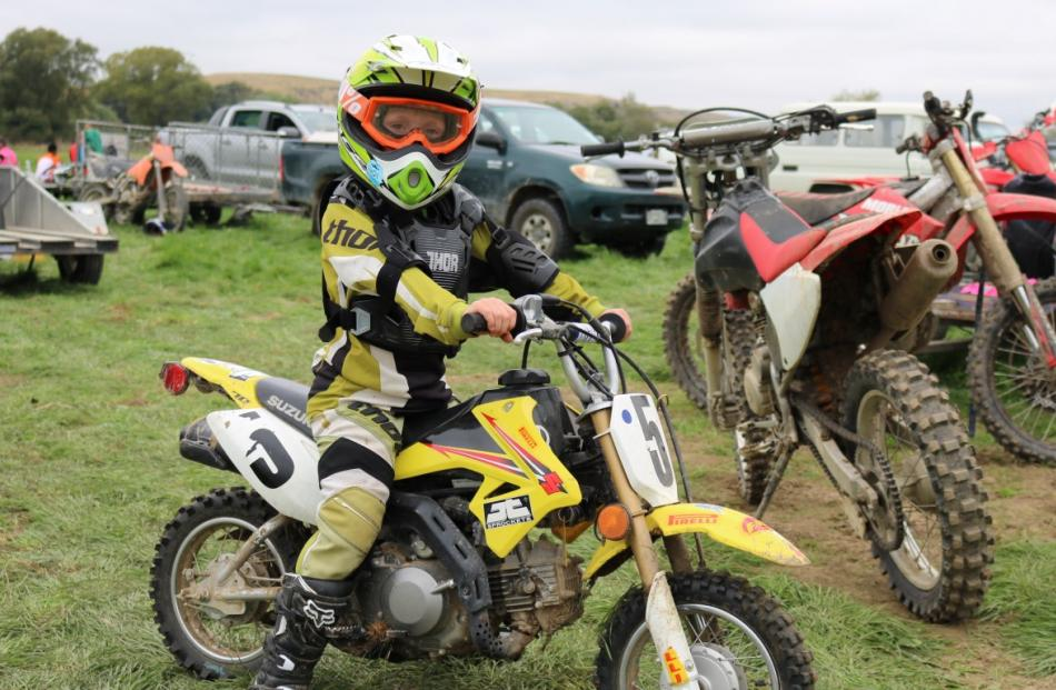 Cohen McLachlan takes on the Pee Wee Track.
