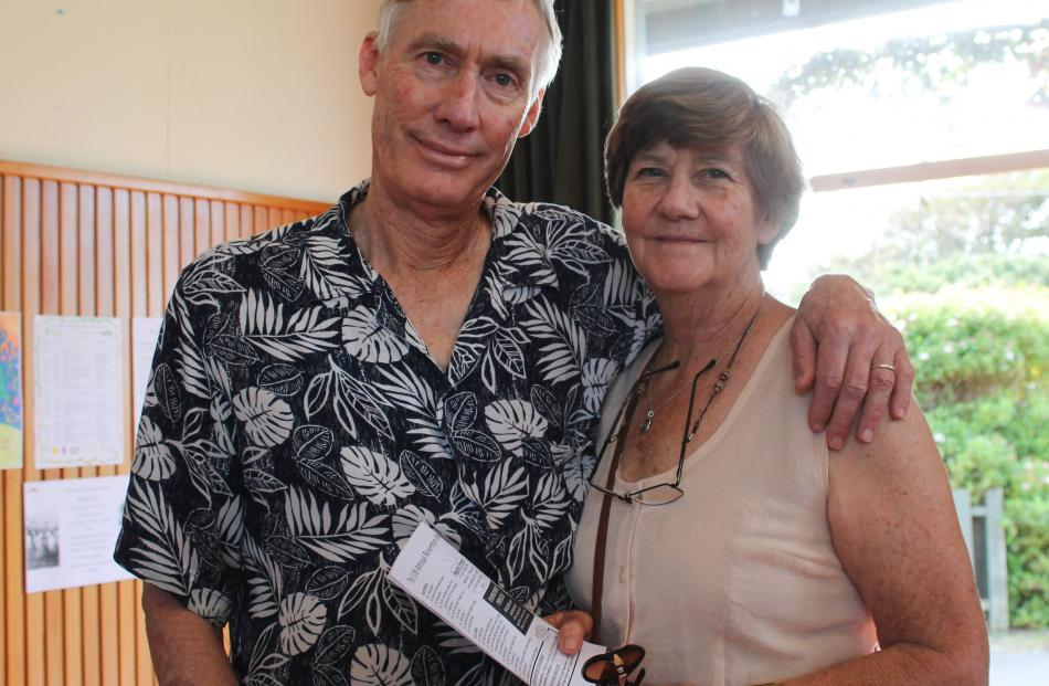 Richard and Sue Johnson, of Invercargill.