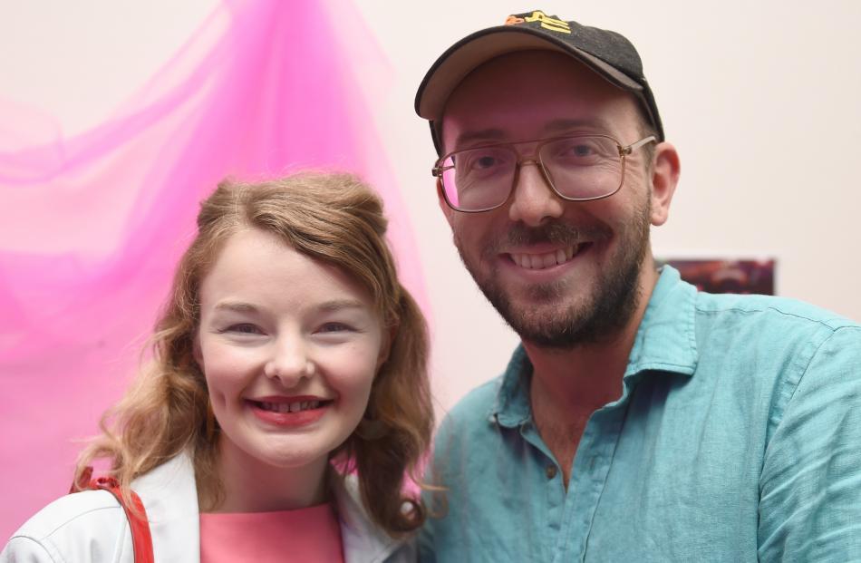 Abby Howells and Angus McBryde, both of Dunedin.