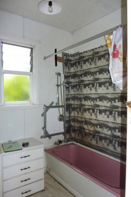 The old bathroom.