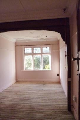 The old bedroom.