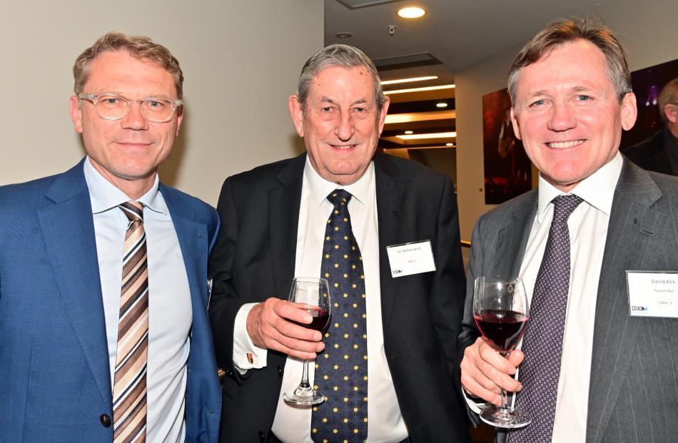 Paul Goldsmith, of Auckland, Sir William Birch, of Pukekohe, and David Kirk, of Sydney.
