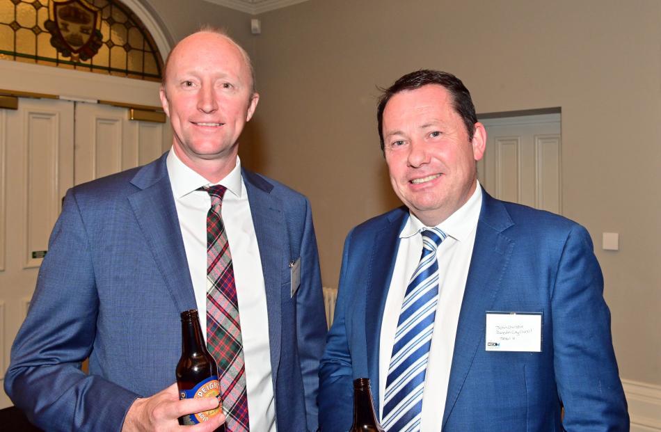 Hamish Macdonald, of Auckland, and John Christie, of Dunedin.