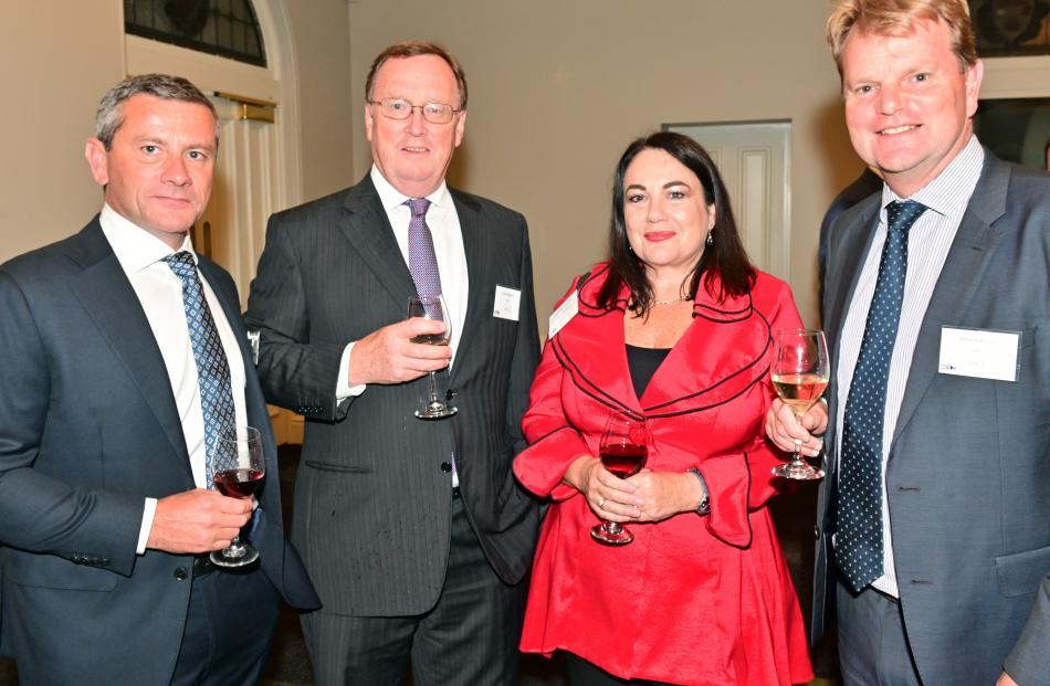 Frank Aldridge, of Tauranga, David Speight, of Wellington, Marcelle Ashcroft, of Auckland, and...