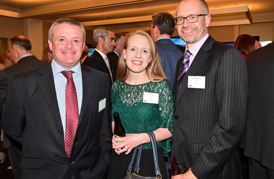 Graham Law, of Wellington, Hannah Lynch, of Auckland, and Richard Bodman, of Wellington.