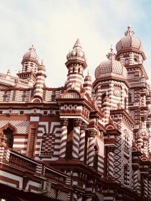 The Red Mosque. Photo: Deborah Heron