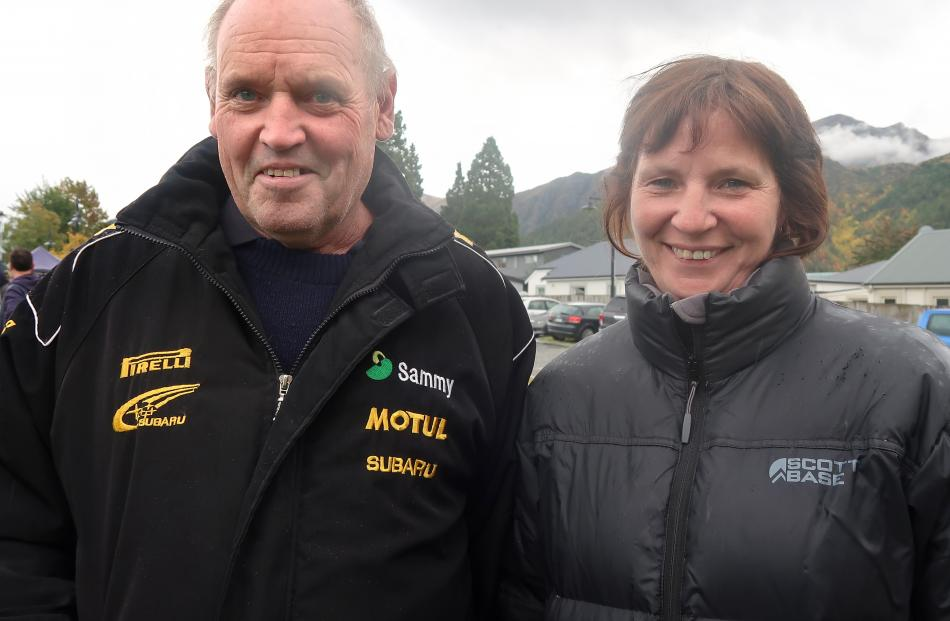 Crockett and Tracey Dodds, of Cromwell.